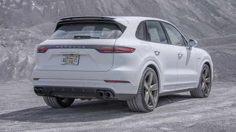 2020 Porsche Cayenne Turbo S E Hybrid Drive Review Photos Specs Performance And Price