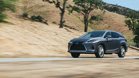 The 2020 Lexus RX350 will be on sale in September.