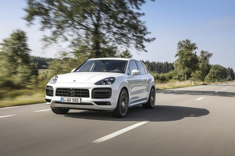 The 2020 Porsche Cayenne and Cayenne Coupe Turbo S E-Hybrids