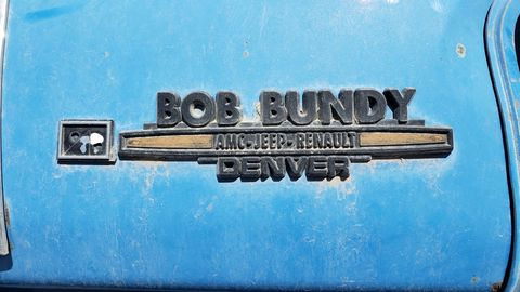 Bob Bundy was a well-known AMC drag racer, as well as the owner of an AMC dealership in Denver.