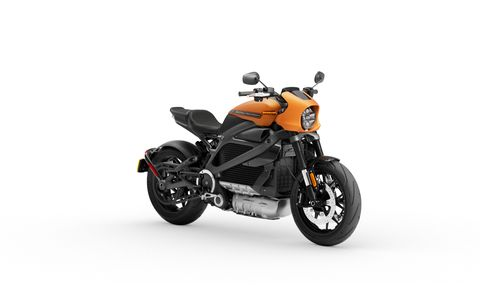 Harley-Davidson's bid for the future starts with the all-electric 2020 LiveWire. The LiveWire packs 86 lb-ft of torque and 105 hp, and its 15.5 kWh lithium-ion battery enables a range of 146 miles -- in the city. The company pegs highway range at 70 miles.