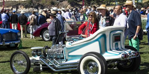For the 2019 Pebble Beach Concours d'Elegance, the powers that be created a class exclusively for hot rods that graced the covers of magazines.
