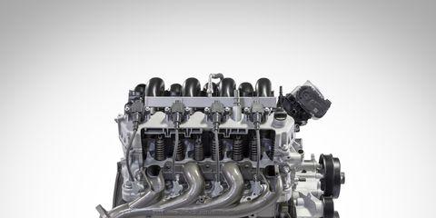 7.3-liters of displacement, 430 hp, 475 lb-ft of torque, Forged steel crankshaft