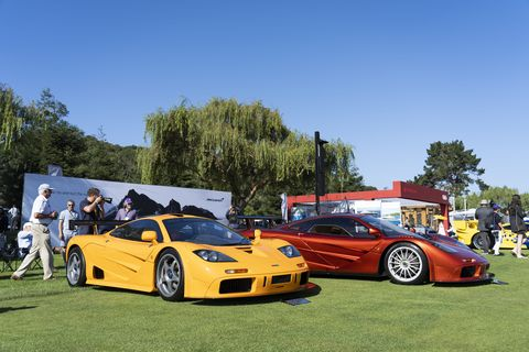 The Quail celebrated the 25th anniversary of the McLaren F1