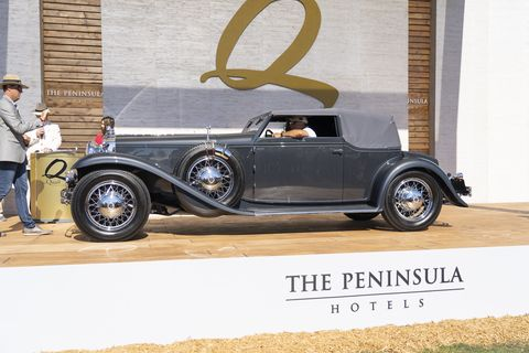 "<strong><span style=""font-size:11.0pt""><span style=""font-family:&quot;Calibri&quot;,sans-serif""><span style=""font-weight:normal"">1931 Stutz DV 32 Convertible Victoria by Le Baron Named ""Best of Show"" </span></span></span></strong>"