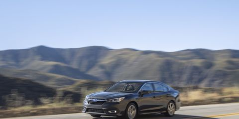2020 Subaru Legacy goes all Camry on us