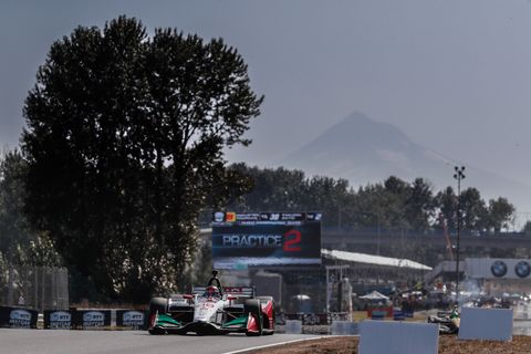 Sights from the IndyCar action ahead of the Grand Prix of Portland Saturday, August 31, 2019