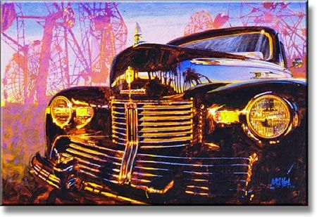 The Boss's Lincoln by Bill Motta