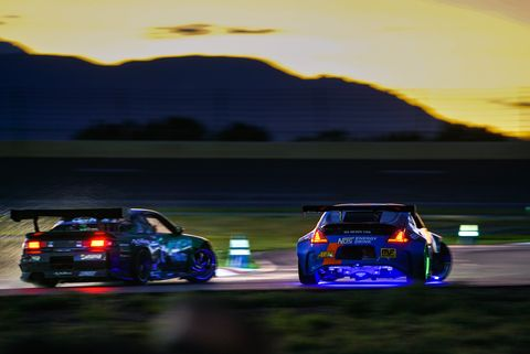 <span><span><span><span><span><span><span>The 2019 Gridlife: Alpine Horizon festival added night drifting to the mix. Formula Drift Pro1 and various other drivers hit the colorfully lit track at night, painting a beautiful picture of motion and light</span></span></span></span></span></span></span>.