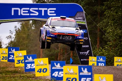 Sights from the WRC Rally Finland, August 1-4 2019