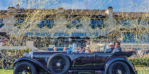 The big, bad, bruiser Bentley wins Pebble.
