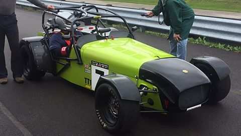 Paul Gerard is entered in this 1996 Caterham 7 Supersprint.