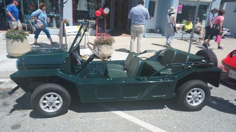 More cars from The Little Car Show in Pacific Grove