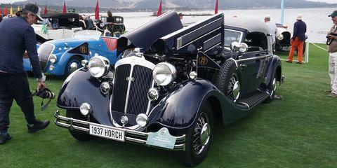 Aaron Weiss' 1937 Horch 853 Glaser Sport Cabriolet