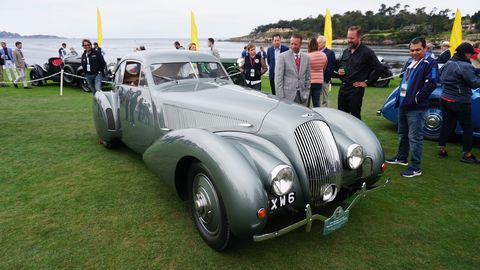 This Bentley raced at Le Mans in 1949, '50 and '51