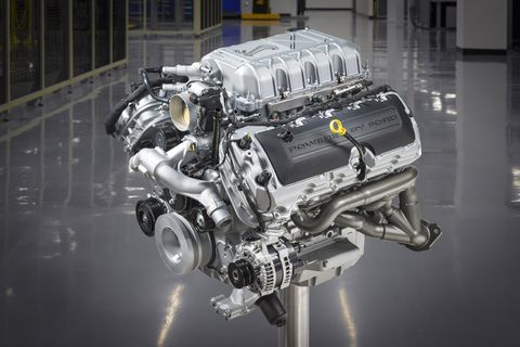 Take a look at the 5.2-liter, supercharged V8 of the 2020 Ford Mustang Shelby GT500