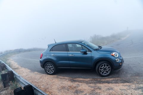 Take a look at the latest Fiat 500X, refreshed for the 2109 model year