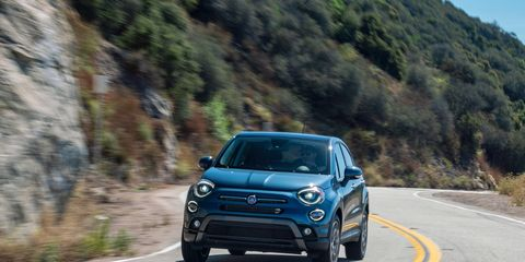 Here is the Fiat 500X, with its new 1.3-liter turbocharged engine, in action