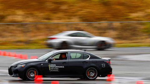 Learn to drive your Lexus like Scott Pruett in the Lexus Driving School