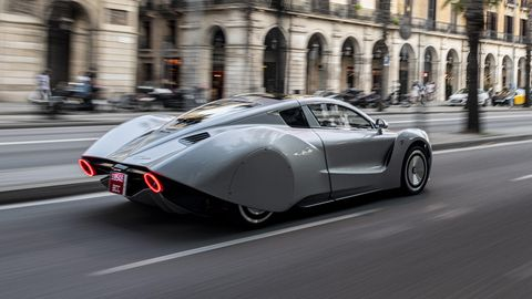 The 2019 Hispano Suiza Carmen prototype was first shown at the Geneva motor show earlier this year.