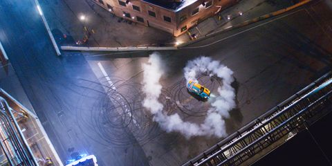 """Hyperdrive"" on Netflix is like ""American Ninja Warrior"" for cars"