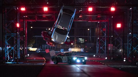 """Hyperdrive"" on Netflix is like ""American Ninja Warrior"" for cars"