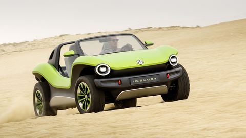 The electric ID Buggy concept shows off the versatility of Wolfsburg's MEB platform.