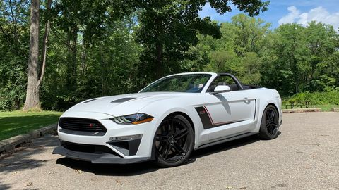 The 2019 Ford Mustang Roush Stage 3 comes with 710 hp from a supercharged V8.