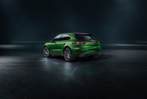 Take a look at the 2020 Porsche Macan Turbo with 10% more power than before