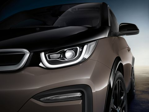 2019 BMW i3 Sport in detail.