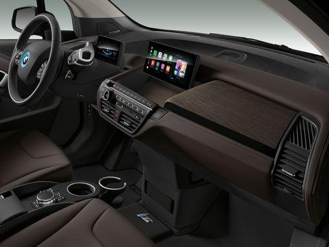 Interior of the2019 BMW i3 Sport.