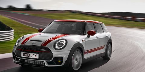 The 2020 Mini Clubman JCW delivers 301 hp.
