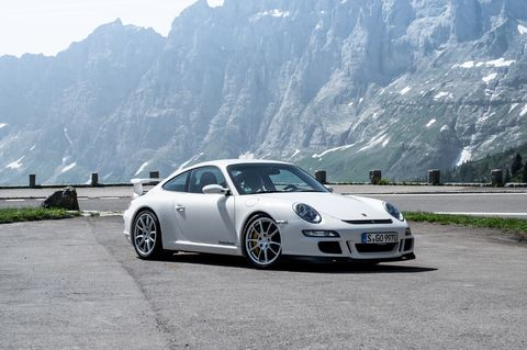 The third iteration of the GT3was the first on the 997 chassis. Power improved again to 409 horsepower, still from 3.6-liters. The was the first GT3 to have standard adjustable shock absorbers, named Porsche Active Suspension Management or PASM