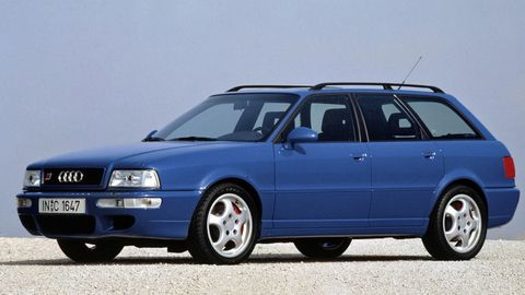 The RS2 Avant was Audi's pocket-sized back road terror in the 1990s, but it was produced in a small quantity over just about a year and a few months.