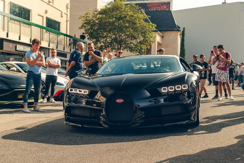 """SoCal supercar dealer group O'Gara's """"Road to Pebble Beach"""" gives a nod to the coming week's activities up north with a supercar show in Los Angeles called Sunset GT"""