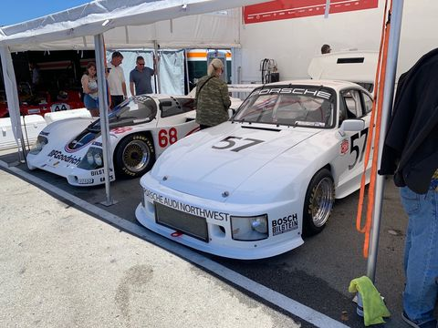 A look at the 2019 Monterey Motorsports Reunion Paddock and just a few of the collection of fantastic race cars hanging out