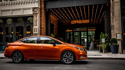 The 2020 Nissan Versa carries the powertrain over but offers a fresh look and new tech.