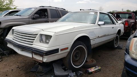 The Dodge-branded sibling of the 1983 Chrysler Cordoba, itself related to the Dodge Diplomat.