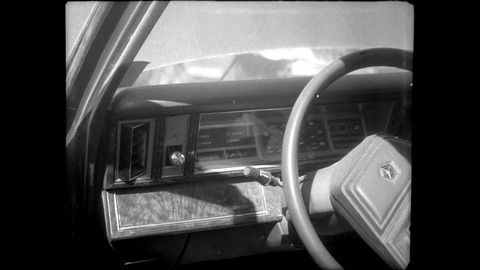 The finest in Iacoccan dash technology, photographed with the fascinatingly weird 1927 Ansco Memo film camera.