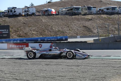 Sights from the IndyCar action at Laguna Seca Saturday Sept. 21, 2019