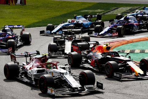 Sights from the F1 Italian Grand Prix at Monza, Sunday September 8, 2019