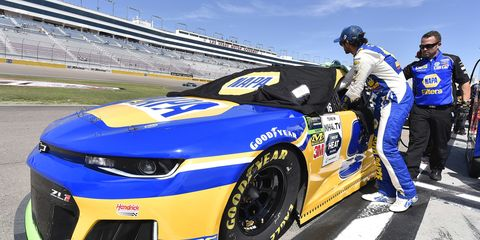 Sights from the NASCAR action at Las Vegas Motor Speedway, Saturday Sept. 14, 2019