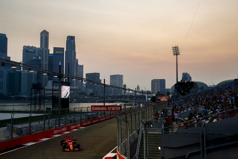 Sights at the Marina Bay Circuit  in Singapore ahead of the F1 Singapore Grand Prix Saturday Sept. 21, 2019