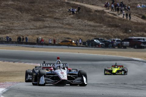 Sights from the IndyCar action at Laguna Seca Sunday Sept. 22, 2019