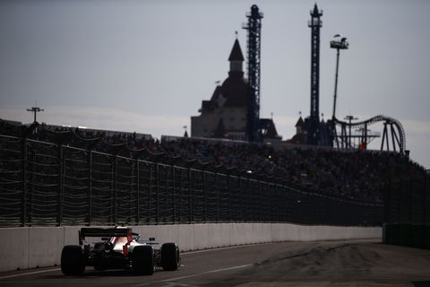 Sights from the F1 Russian Grand Prix Saturday Sept. 28, 2019