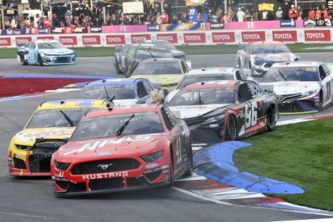 Sights from the NASCAR action at Charlotte Motor Speedway Sunday Sept. 29, 2019