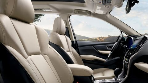 The 2020 Subaru Ascent comes standard with EyeSight, the company's suite of safety features.