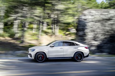 Take a look at the 2021 Mercedes-AMG GLE 53 Coupe