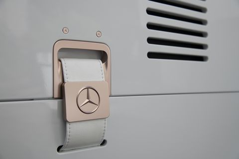 Here are details ofthe Vision Mercedes Simplex revealed at the new design center outside of Nice, France