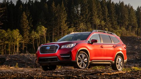 The 2020 Subaru Ascent comes exclusively with a turbocharged 2.4-liter H4 making 260 hp.